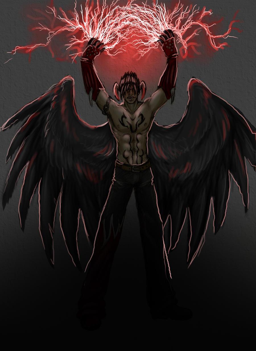 Devil Jin by TornAroundtheEdges on DeviantArt