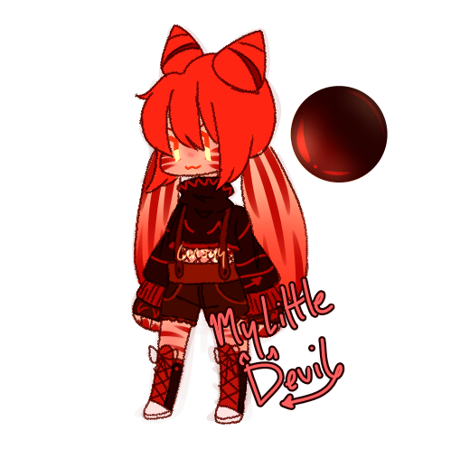 [Adopt] My Littlest Devil Closed! by Lunsyy