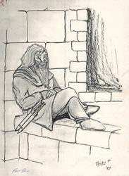 Footpad-Gnome Thief (ADnD 1st ed) by TheMrRoc