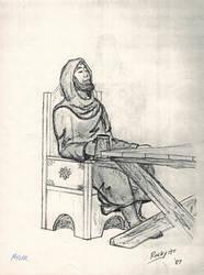 Mylar-Human Cleric (ADnD 2nd Ed) by TheMrRoc