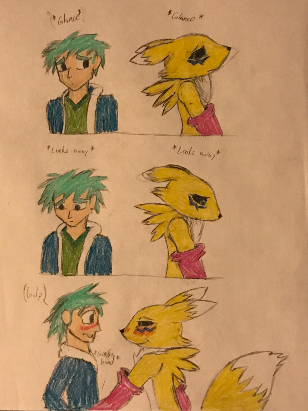 Awkward Silence (part 1) Valentine Special by Hiccup-Hedgehog18