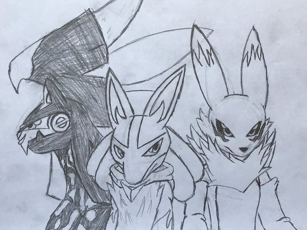 The Mystery Dungeon Story Trio! by Hiccup-Hedgehog18