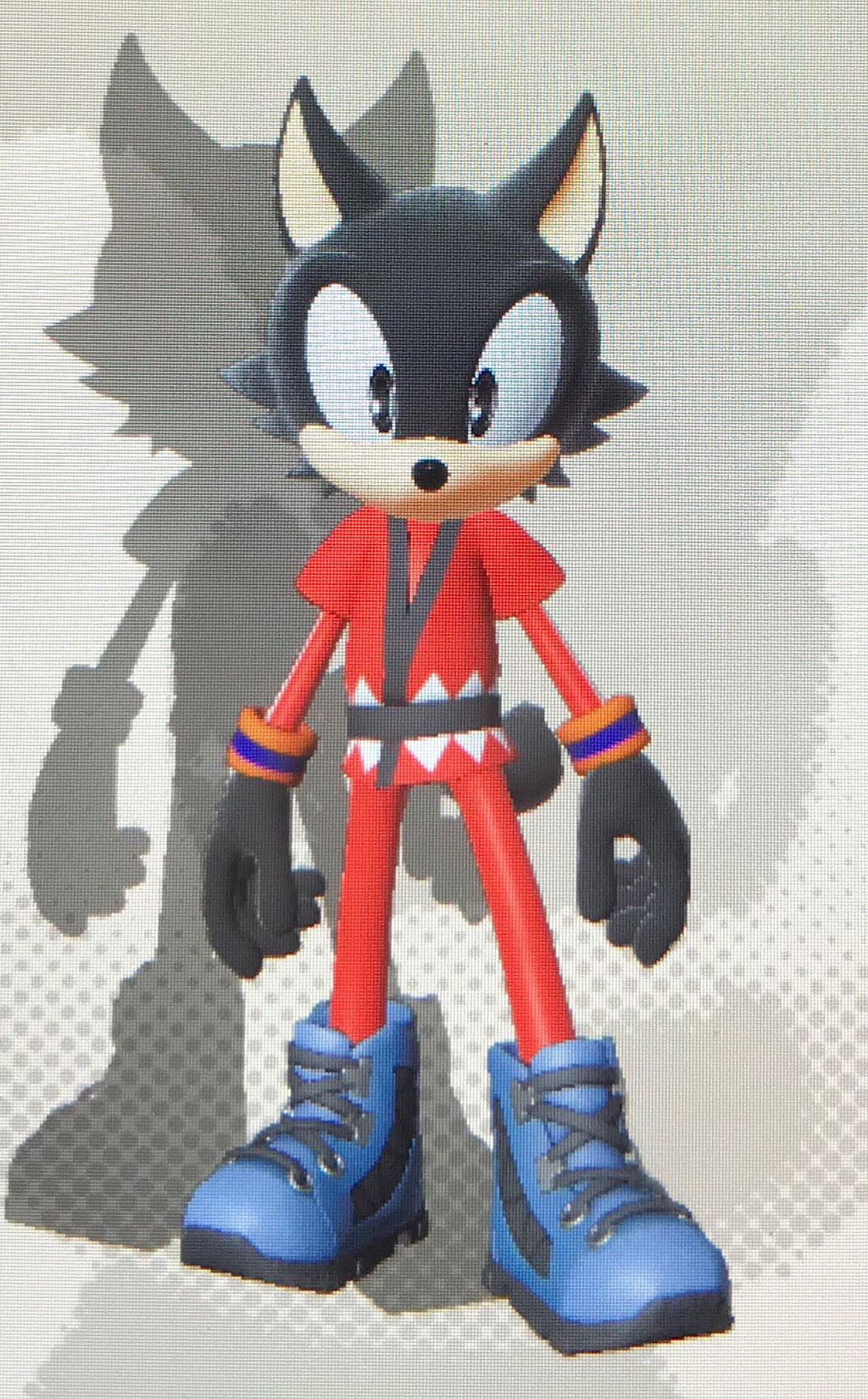 Goku [(Wolf) Base Form] (Sonic Forces) by Hiccup-Hedgehog18