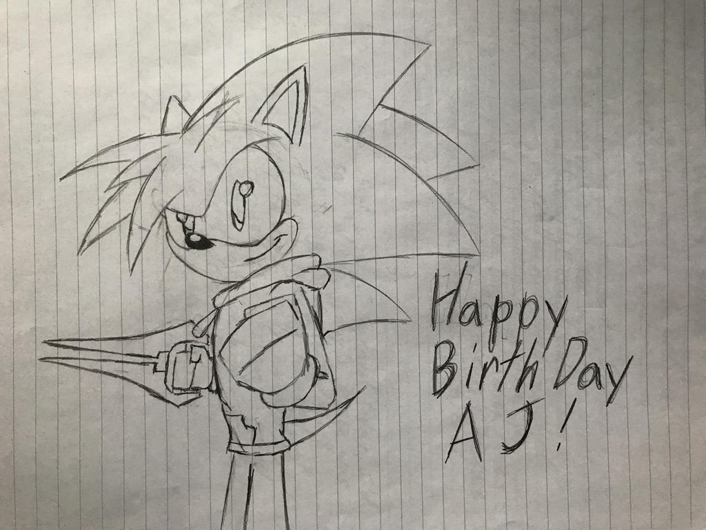 AJs Birthday Drawing! by Hiccup-Hedgehog18