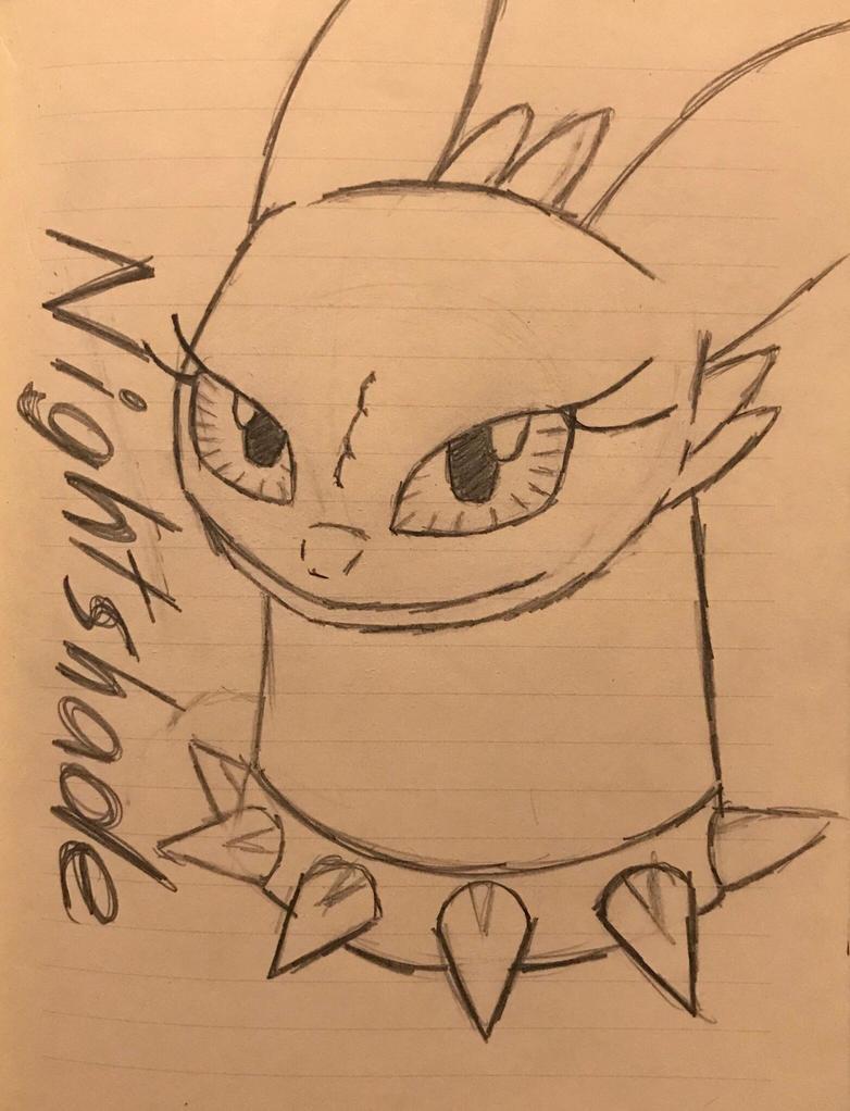 Nightshade Fan Art (for DragonDogFilmsG) by Hiccup-Hedgehog18