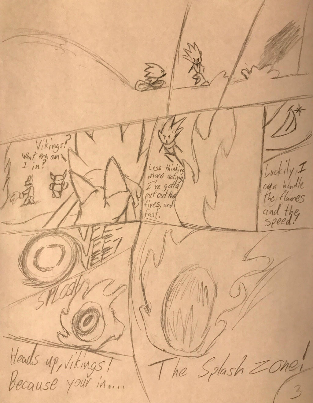 The Sea of the Night Sky page 3 by Hiccup-Hedgehog18