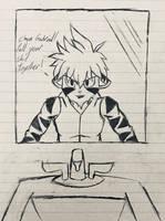 Restroom Pep Talk! by Hiccup-Hedgehog18
