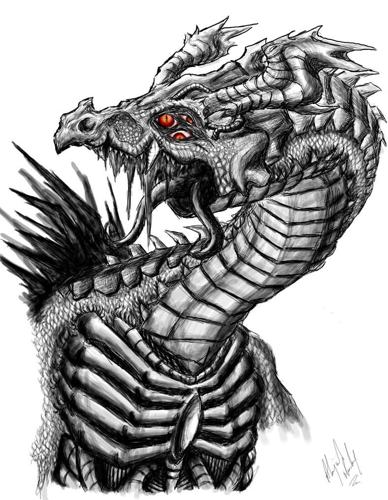 Metal Clad Monstrosity By Abzjharding