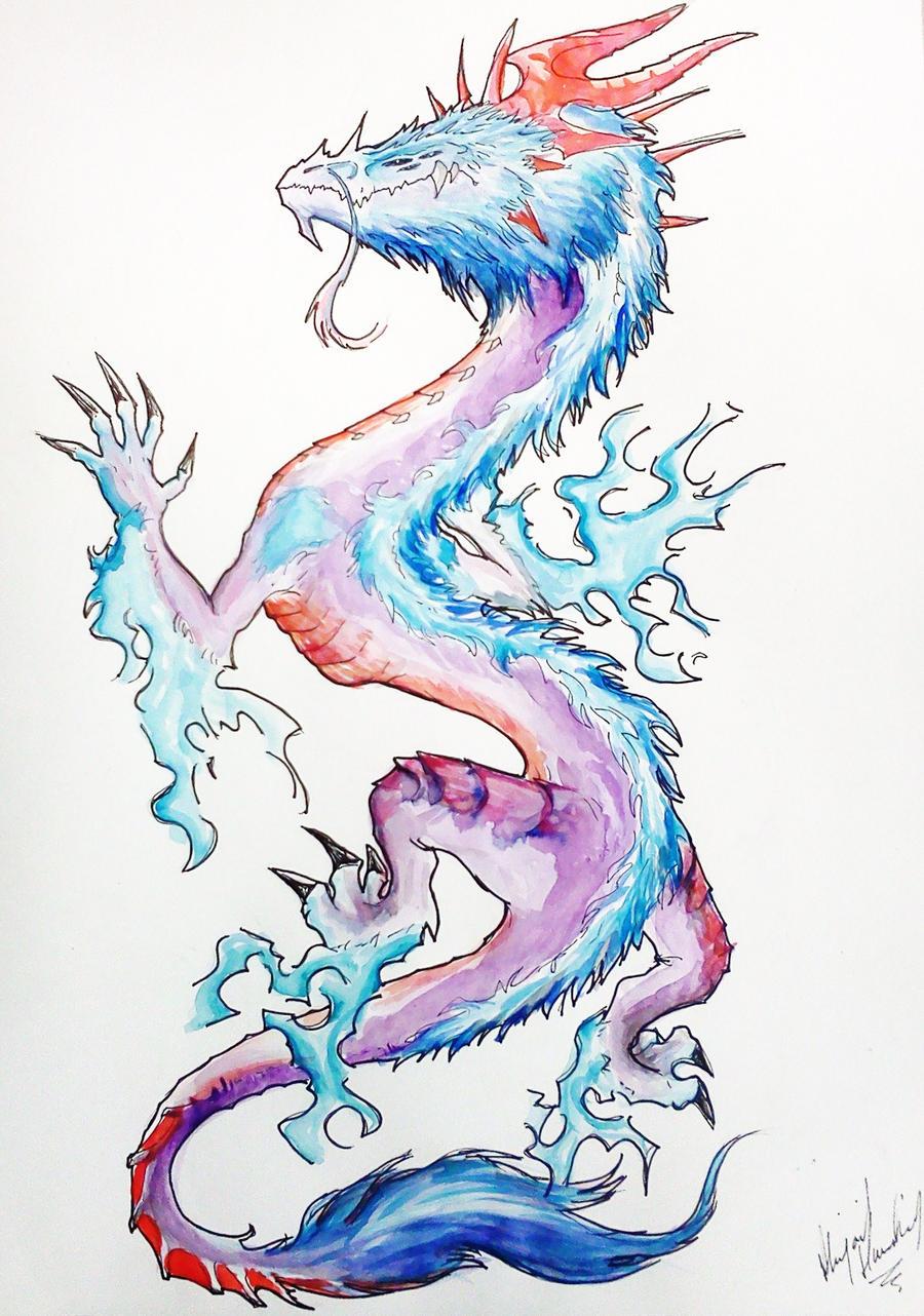 Design Dragon Tattoo By
