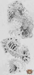 Tattoo Design : Chest-Ripper by Abz-J-Harding