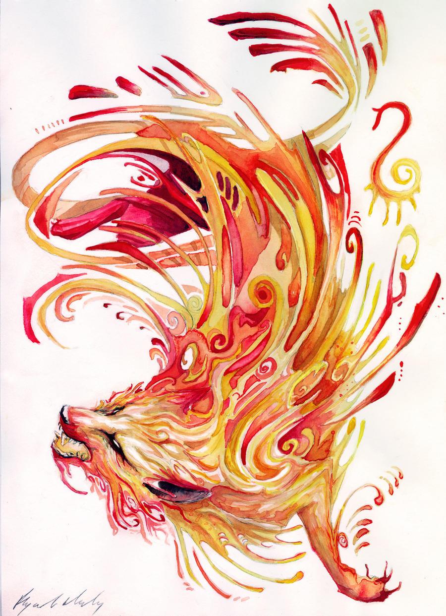Fire: The Fire by Abz-J-Harding