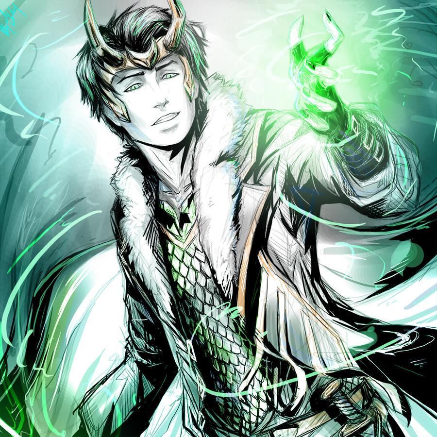 Young Avengers : Loki by Abz-J-Harding on DeviantArt