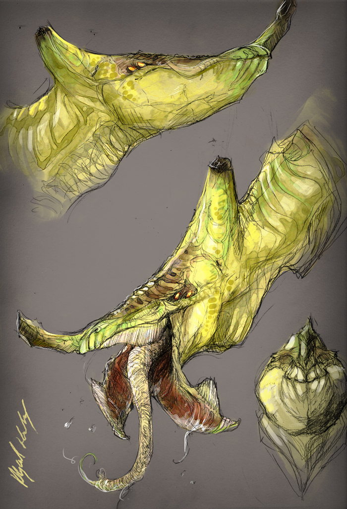 Banana-Dragons by Abz-J-Harding