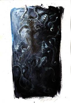strange - dark concept