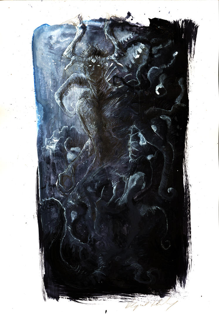 strange - dark concept by Abz-J-Harding