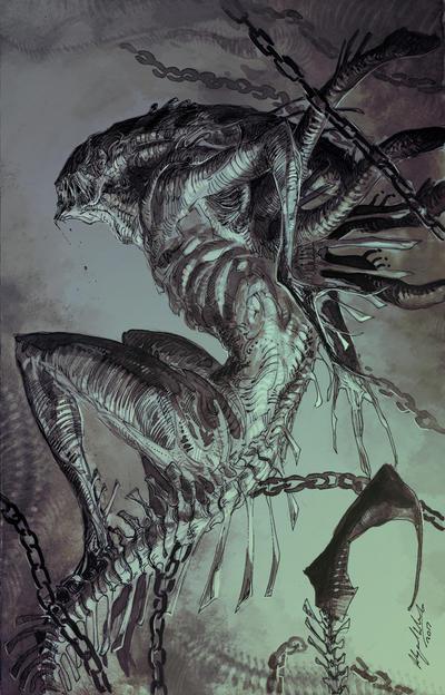 Aliens by Abz-J-Harding