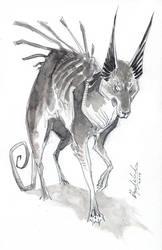 Untitled Dog by Abz-J-Harding