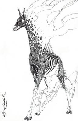 Dali's Giraffe