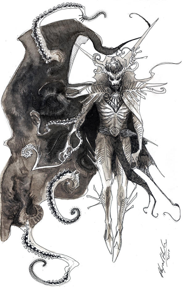 Doctor Strange- Black Priest design by Abz-J-Harding