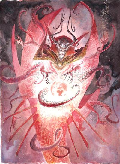 Dr Strange Commission by Abz-J-Harding
