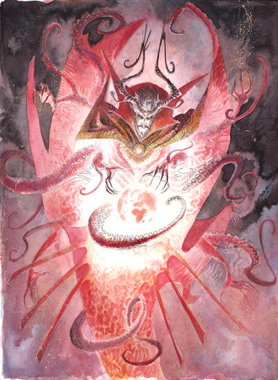 Dr Strange Commission by Abz-J-Harding