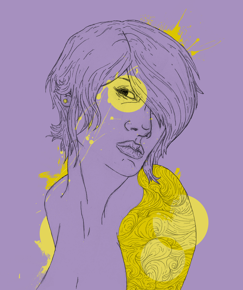 Purple And Yellow Design By Lucasvfa On Deviantart