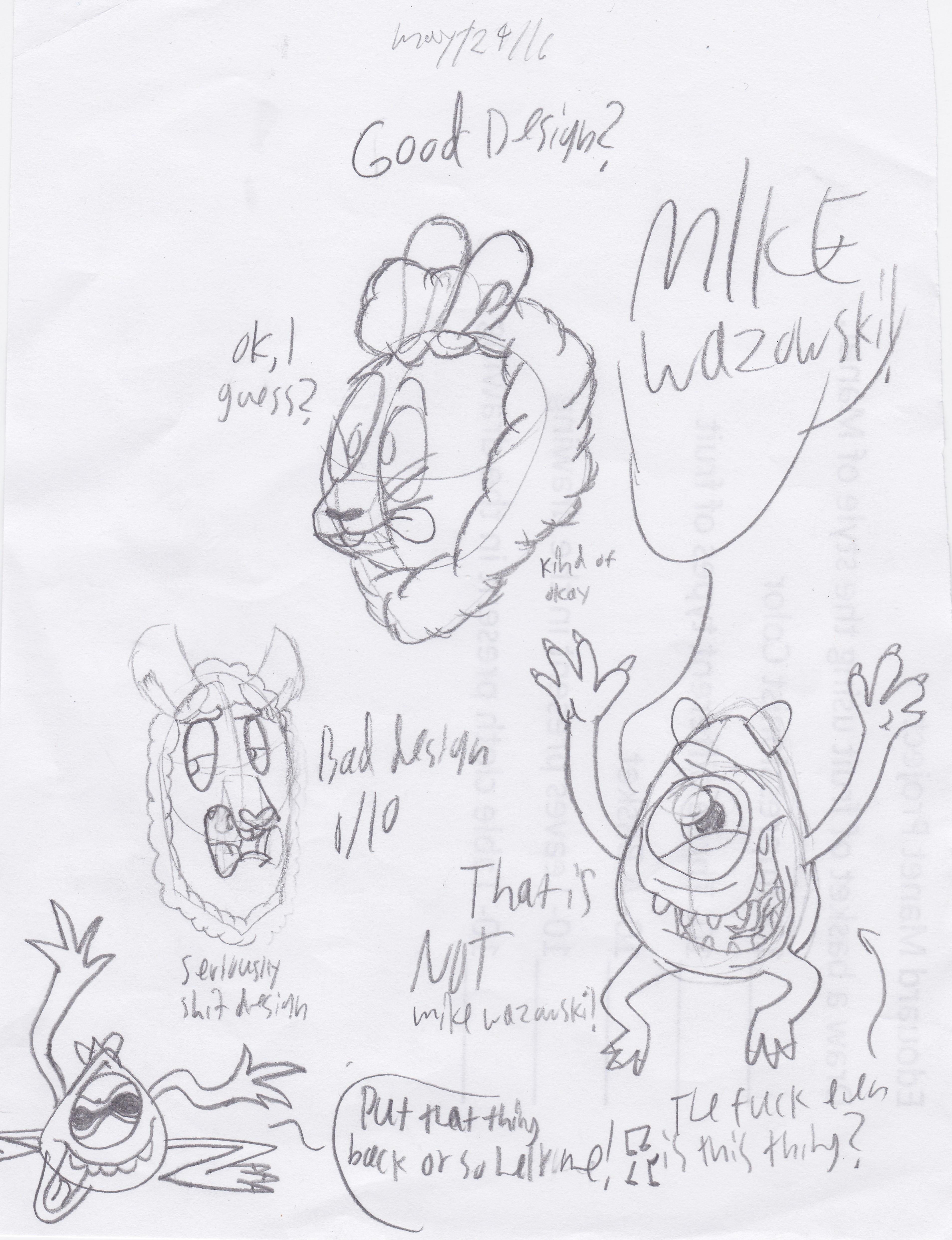 MIKE WAZOWSKI!!!!!!!! by UncleReagan