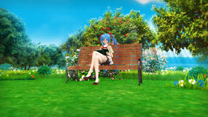 {MMD Picture Request} Reading in the Park