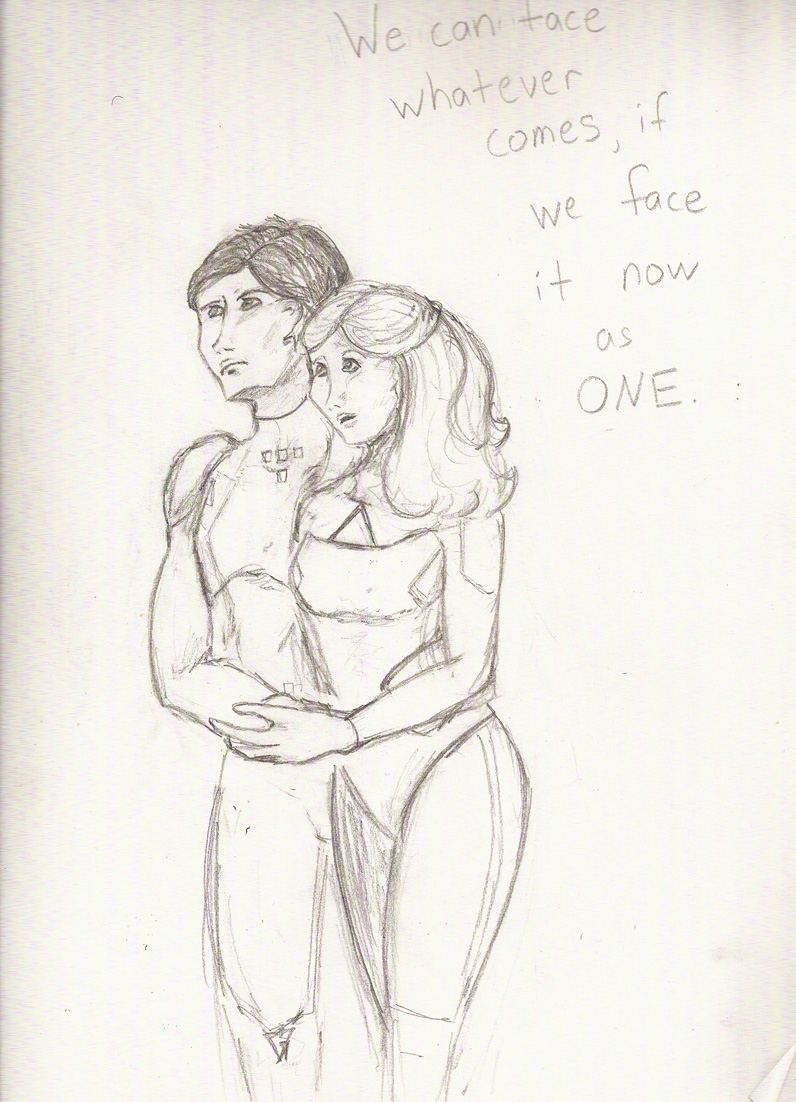 ...if we face it now as ONE. by Aryn007