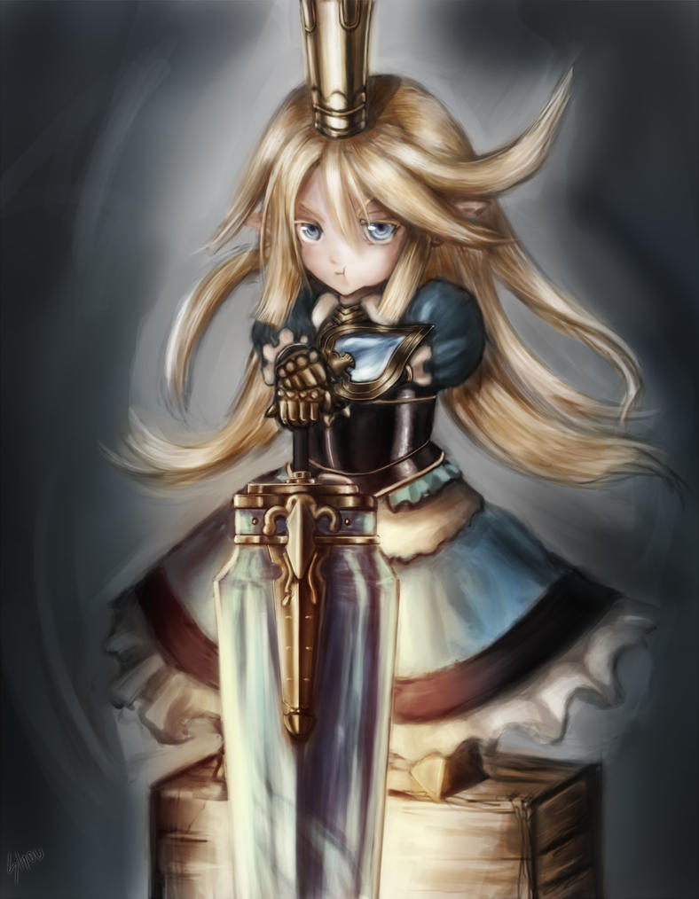 Little-knight-Charlotta by Returning-Blue