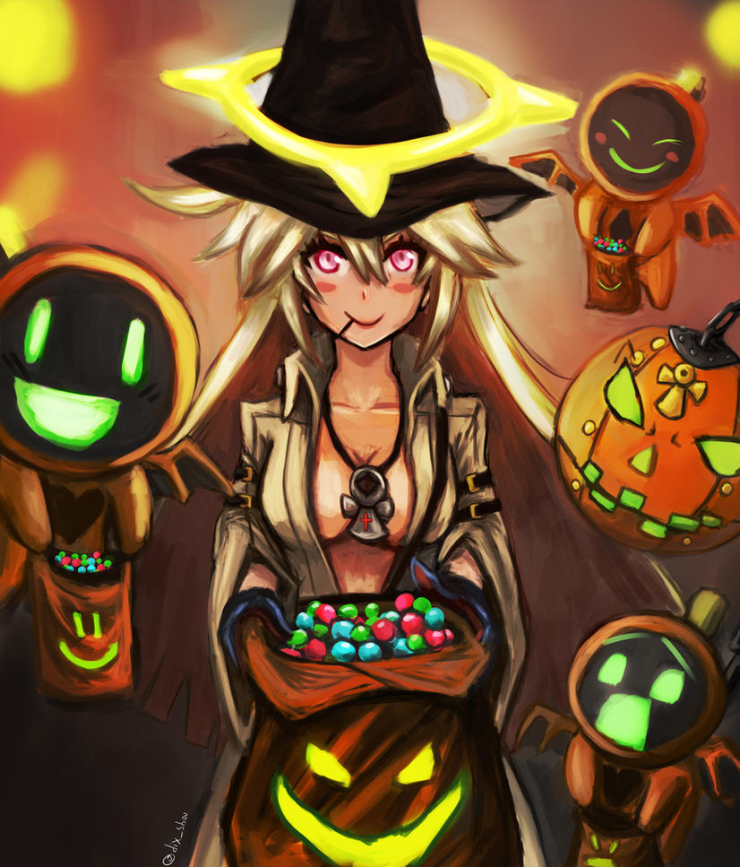 Guilty Gear Wallpaper: TRICK OR TREAT! Jack O Guilty Gear By Returning-Blue On