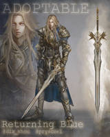 [Auction]  Holy Knight [CLOSED] by Returning-Blue