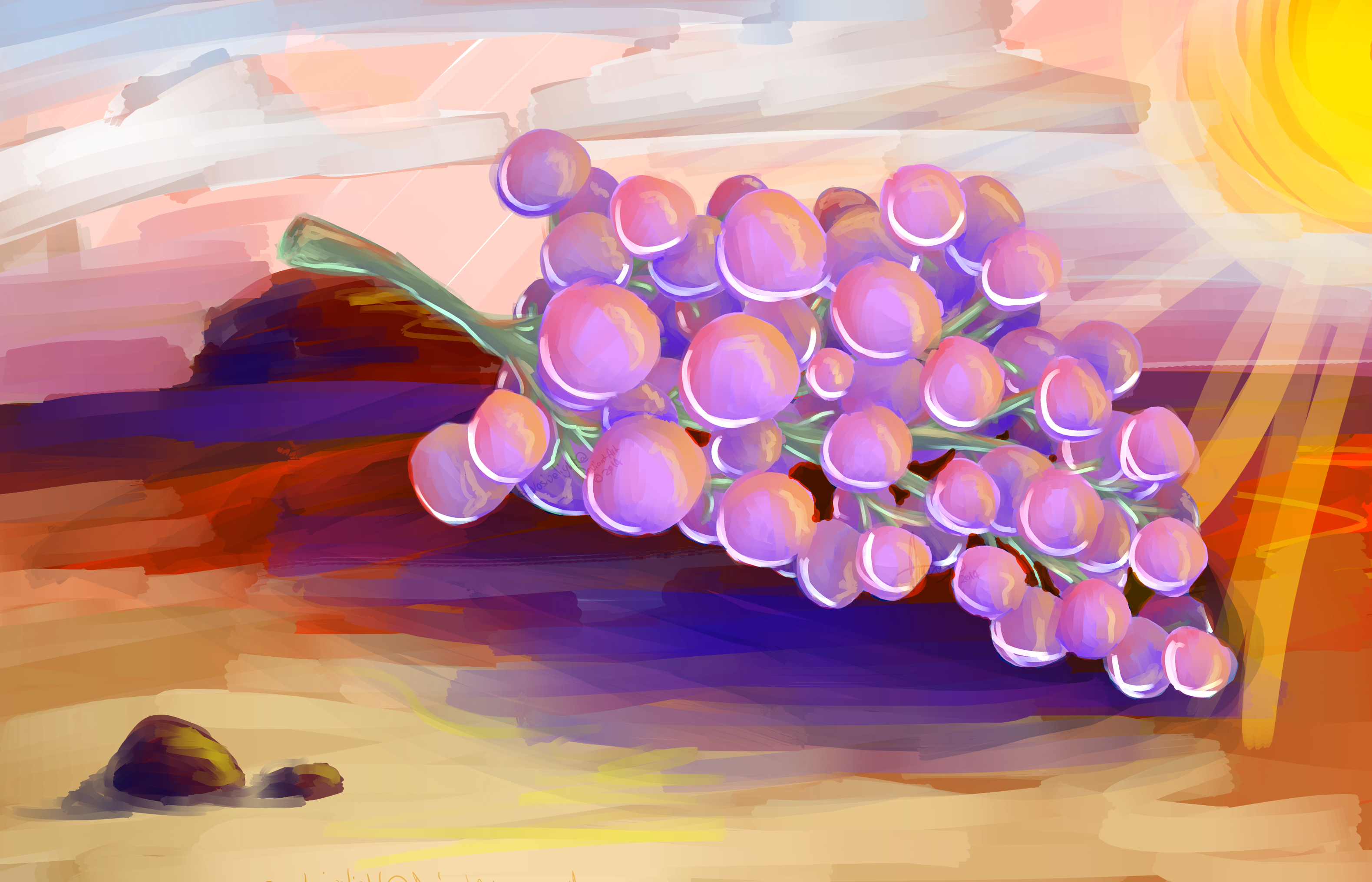 Desert Grapes by explosivelight