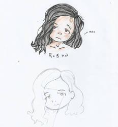 Robyn: Forehead girl