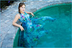Nadia poolside 2