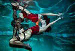 Underwater ballet 16