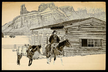 Hideout ranch in Shell Wy. 1` by DPAdoc