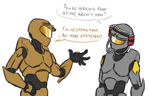 RvB - Efficiency by ajremix