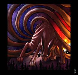 Nine Tails by drowdragon