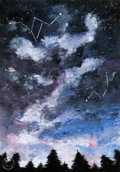 Constellations - SpaceArt #020