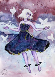 Galaxi girl - Lirvena