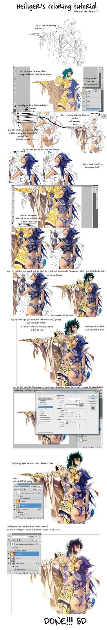 heiliger's coloring tutorial by Blatterbury