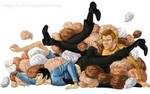 Laocoon orgy of tribbles