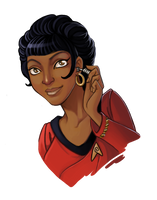 Uhura by Blatterbury