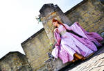 a Sansa in pink
