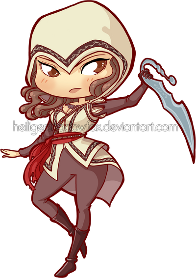 Chibi Assassin by Blatterbury