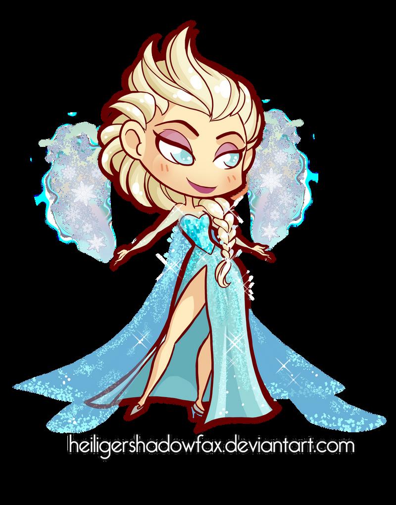 Chibi Elsa by Blatterbury