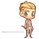 Commission: Hunger Chibi Games #Peeta