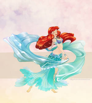 Disney Belly Dancers: Ariel and Double Veil
