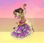 Disney Belly Dancers: Dance la Esmeralda!